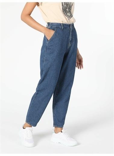 Colin's CL1056569_Q1.V1_DN41643 886 Dennıs Yüksek Bel Daralan Paça Slouchy Fit Jean Kadın Jean Pantolon Renkli